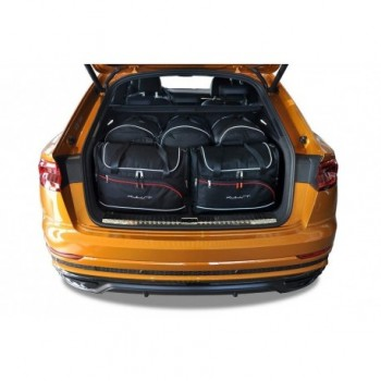 Tailored suitcase kit for Audi Q8