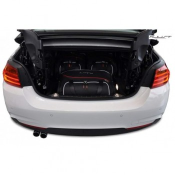 Tailored suitcase kit for BMW 4 Series F33 Cabriolet (2014 - Current)
