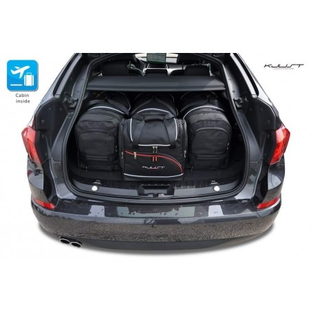 Tailored suitcase kit for BMW 5 Series F07 Gran Turismo (2009 - 2017)
