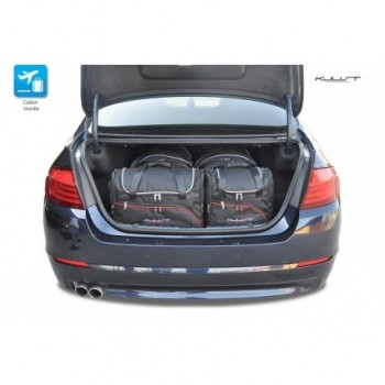 Tailored suitcase kit for BMW 5 Series F10 Sedan (2010 - 2013)