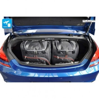 Tailored suitcase kit for BMW 6 Series F12 Cabriolet (2011 - Current)