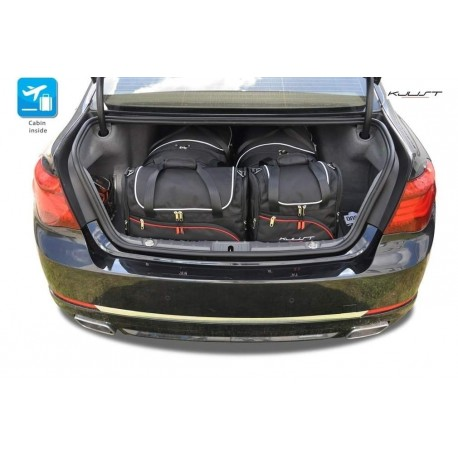 Tailored suitcase kit for BMW 7 Series F01 short (2009-2015)