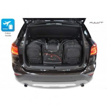 Tailored suitcase kit for BMW X1 F48 (2015 - 2018)