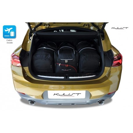 Tailored suitcase kit for BMW X2