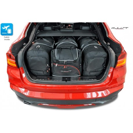 Tailored suitcase kit for BMW X4 (2014-2018)