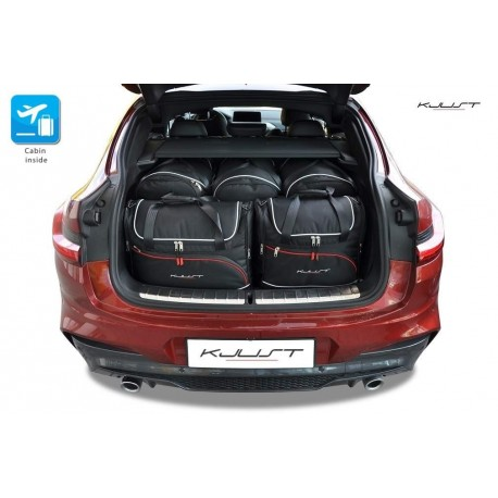 Tailored suitcase kit for BMW X4 G02 (2018-Current)
