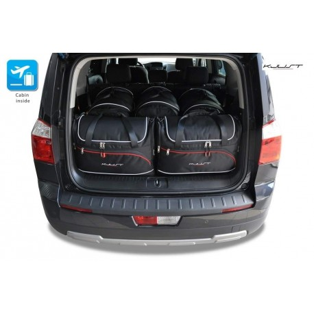 Tailored suitcase kit for Chevrolet Orlando