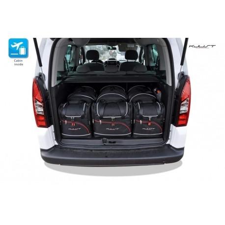 Tailored suitcase kit for Citroen Berlingo (2008 - 2018)
