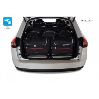Tailored suitcase kit for Citroen C5 Tourer (2008 - 2017)