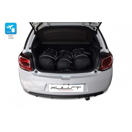 Tailored suitcase kit for Citroen DS3 (2010 - Current)