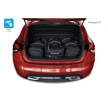 Tailored suitcase kit for Citroen DS4 (2010 - 2016)