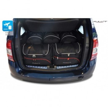 Tailored suitcase kit for Dacia Duster (2014 - 2017)