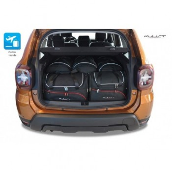 Tailored suitcase kit for Dacia Duster (2018 - Current)