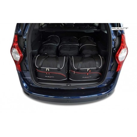 Tailored suitcase kit for Dacia Lodgy 5 seats (2012 - Current)