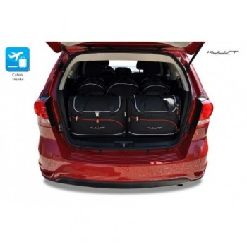 Tailored suitcase kit for Fiat Freemont