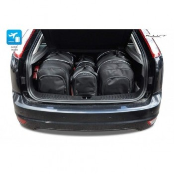 Tailored suitcase kit for Ford Focus MK2 3 o 5 doors (2004 - 2010)