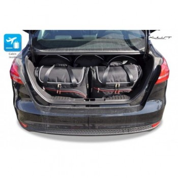 Tailored suitcase kit for Ford Focus MK3 Sedan (2011-2018)