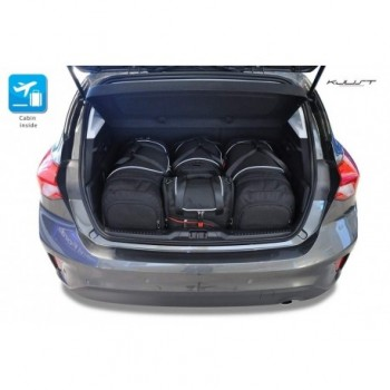 Tailored suitcase kit for Ford Focus MK4 3 o 5 doors (2018 - Current)