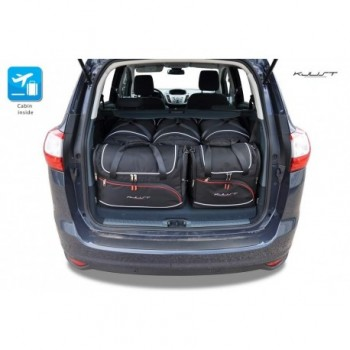 Tailored suitcase kit for Ford C-MAX Grand (2010 - 2015)