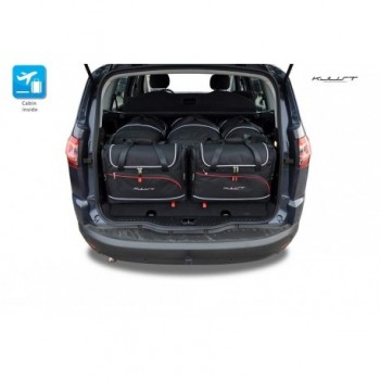 Tailored suitcase kit for Ford S-Max 5 seats (2006 - 2015)