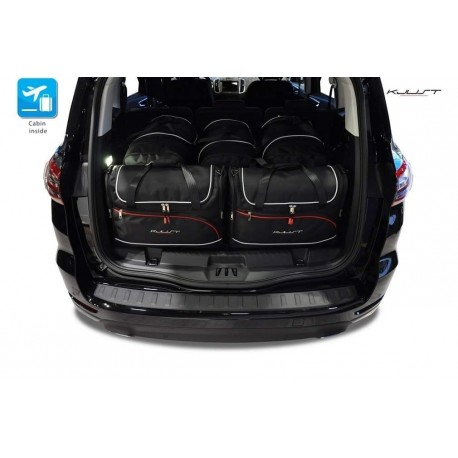 Tailored suitcase kit for Ford S-Max Restyling 5 seats (2015 - Current)