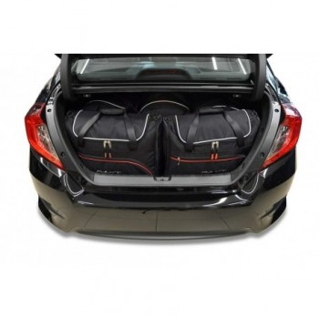 Tailored suitcase kit for Honda Civic Sedan (2017 - Current)