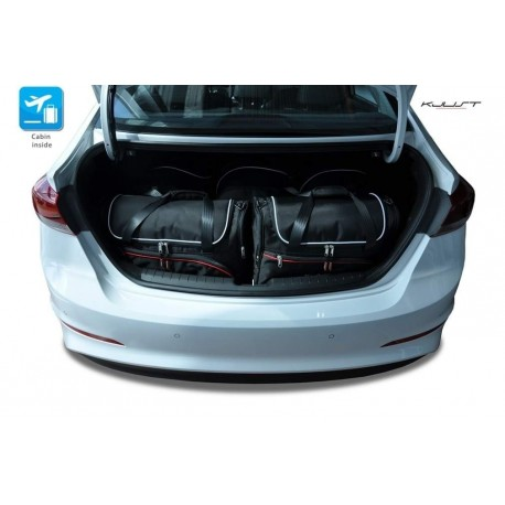 Tailored suitcase kit for Hyundai Elantra 6 (2016-Current)
