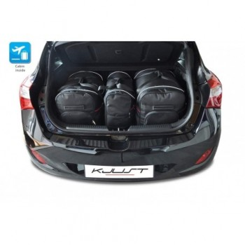 Tailored suitcase kit for Hyundai i30 5 doors (2012 - 2017)