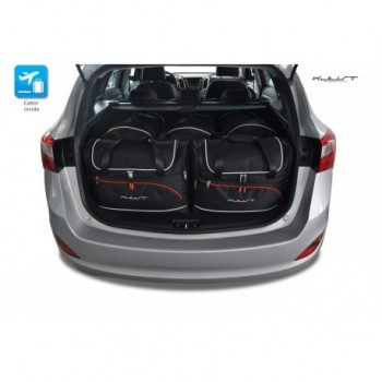Tailored suitcase kit for Hyundai i30r touring (2012 - 2017)