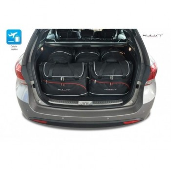 Tailored suitcase kit for Hyundai i40 touring (2011 - Current)