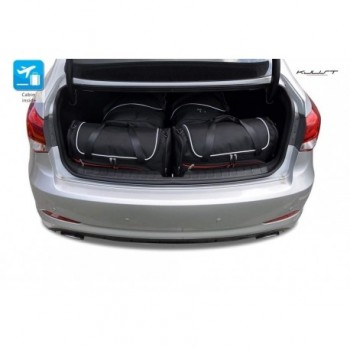Tailored suitcase kit for Hyundai i40 5 doors (2011 - Current)