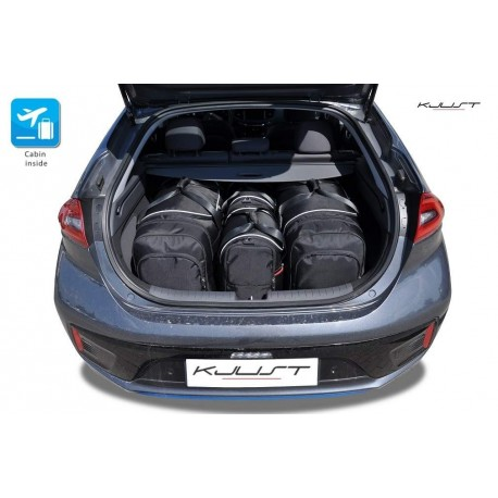 Tailored suitcase kit for Hyundai Ioniq Electric (2016 - Current)