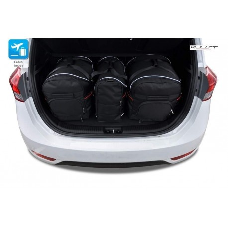 Tailored suitcase kit for Hyundai ix20