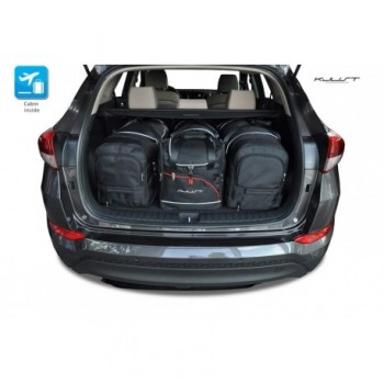 Tailored suitcase kit for Hyundai Tucson (2016 - Current)