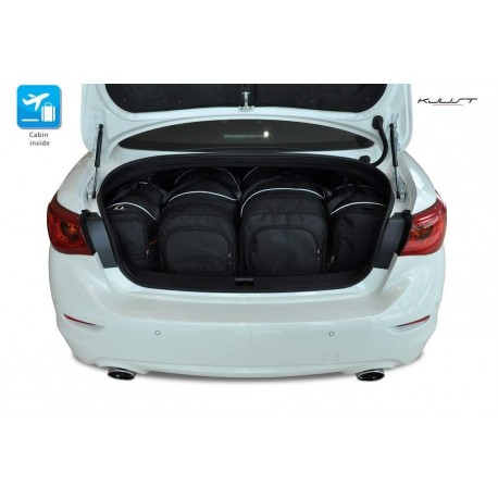 Tailored suitcase kit for Infiniti Q50