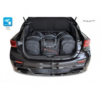Tailored suitcase kit for Infiniti QX30