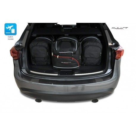 Tailored suitcase kit for Infiniti QX70