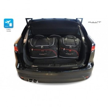 Tailored suitcase kit for Jaguar F-Pace