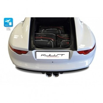 Tailored suitcase kit for Jaguar F-Type