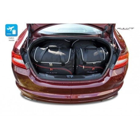Tailored suitcase kit for Jaguar XF (2008 - 2015)