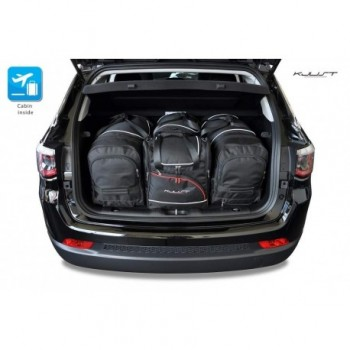 Tailored suitcase kit for Jeep Compass (2017 - Current)