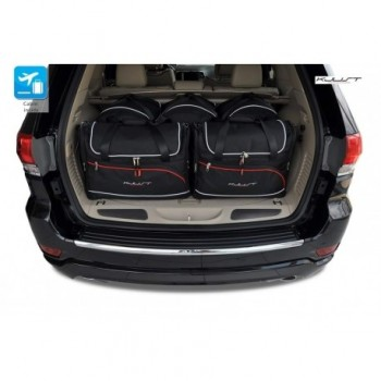 Tailored suitcase kit for Jeep Grand Cherokee WK2 (2011 - Current)
