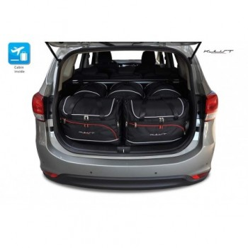 Tailored suitcase kit for Kia Carens (2013 - 2017)