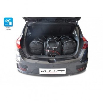 Tailored suitcase kit for Kia Ceed (2012 - 2015)