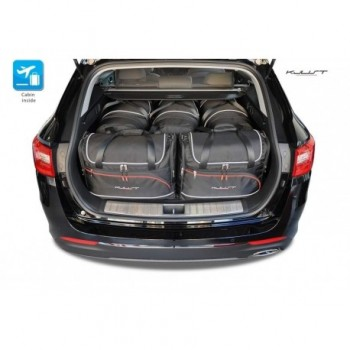 Tailored suitcase kit for Kia Optima Sportwagon (2017 - Current)
