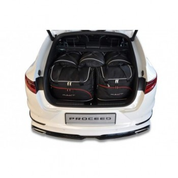 Tailored suitcase kit for Kia Pro Ceed (2019 - Current)