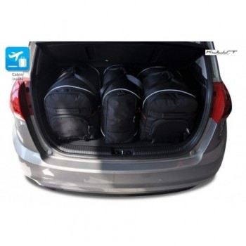 Tailored suitcase kit for Kia Venga