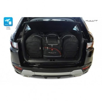 Tailored suitcase kit for Land Rover Range Rover Evoque (2011 - 2015)