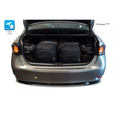 Tailored suitcase kit for Lexus GS