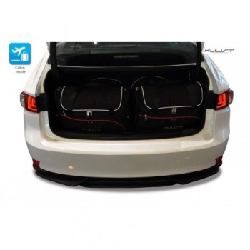 Tailored suitcase kit for Lexus IS (2013 - 2017)